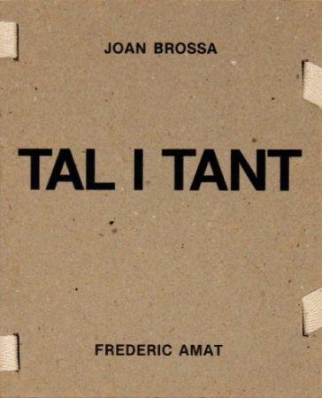 Illustrated Book Brossa -  Tal i tant
