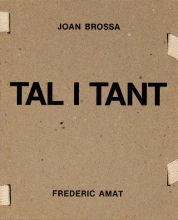 Illustrated Book Brossa -  Tal i tant