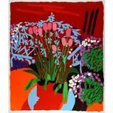 Screenprint Mclean - Tall Dutch Tulips