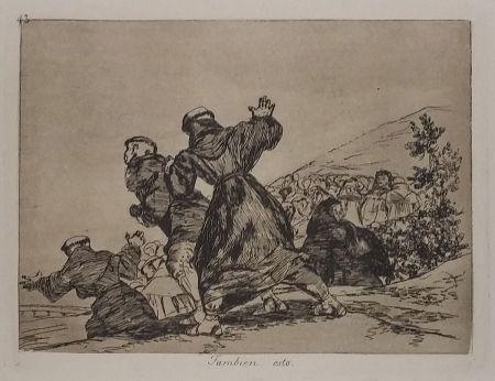 Etching Goya - TAMBIEN ESTO