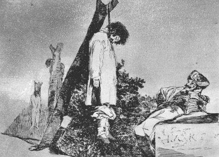 Engraving Goya - Tampoco