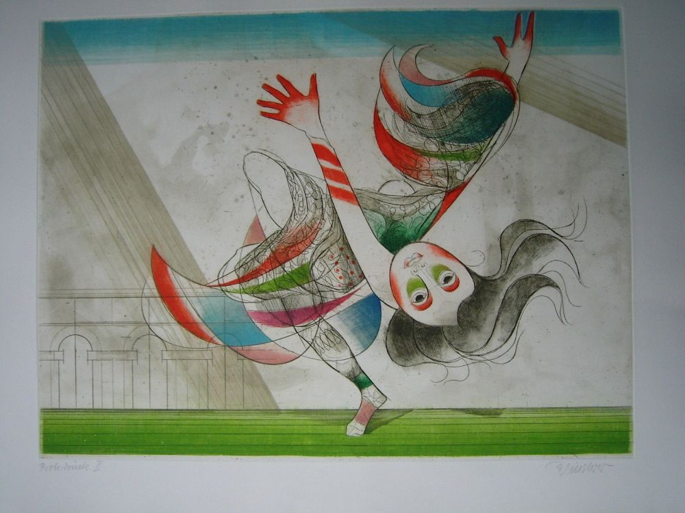 Etching And Aquatint Finsterer - Tanz der Salome