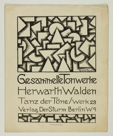 Lithograph Bauer - Tanz Der Töne (Dance Of Sounds)