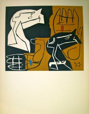 Lithograph Le Corbusier - Tapisseries (before lettering)