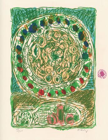 Lithograph Alechinsky - Tarte al'jotte