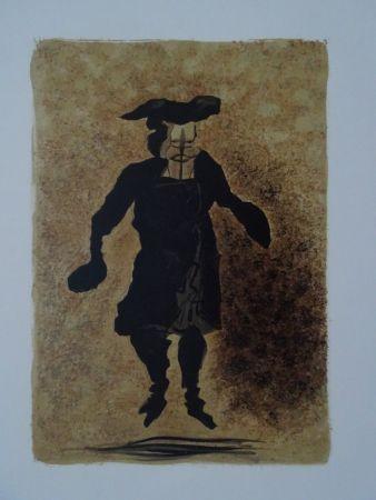 Lithograph Braque - Tartuffe