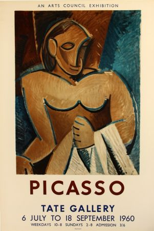 Lithograph Picasso - Tate Gallery