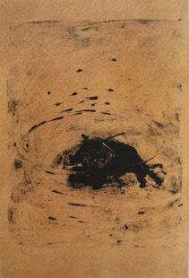 Lithograph Barcelo - Taureau