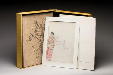 Illustrated Book Cocteau - Taureaux