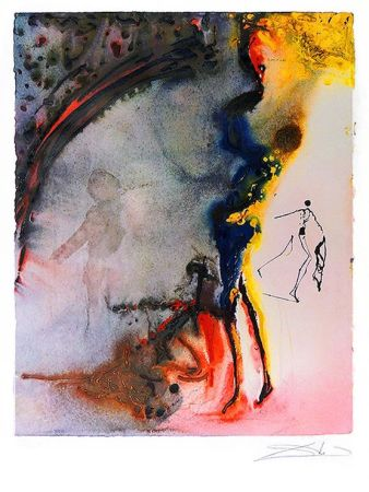 Lithograph Dali - Tauromachie - Bullfight Ii