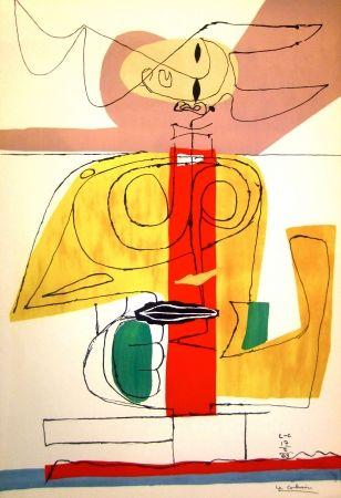 Lithograph Le Corbusier - Taurus