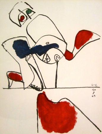 Lithograph Le Corbusier - Taurus XVII