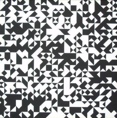 Screenprint Morellet - Tavola 7