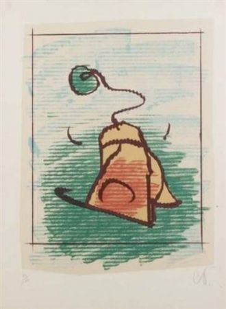 Lithograph Oldenburg - TEA BAG