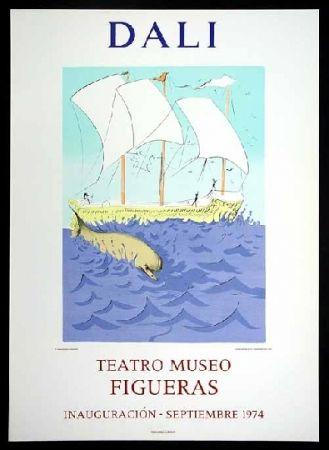 Poster Dali - Teatro Museo Figueras.
