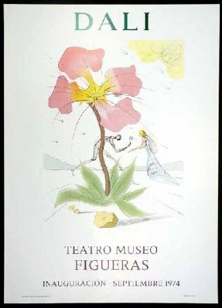 Lithograph Dali - Teatro museo Figueras