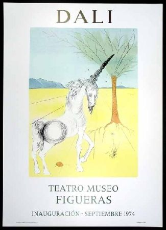 Poster Dali - Teatro museo Figueras