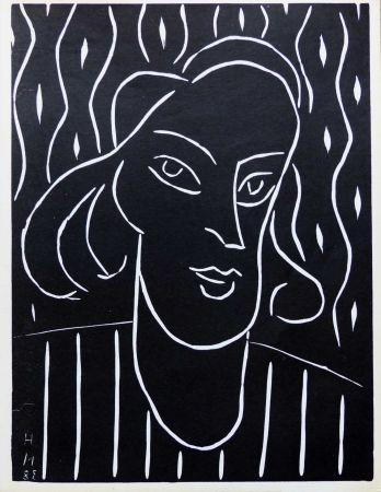 Linocut Matisse - TEENY