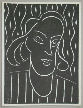 Linocut Matisse - Teeny, 1938