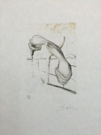 Drypoint Dali - Teléphone Mou