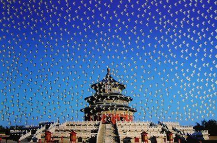 Screenprint Yan - Temple of Heaven