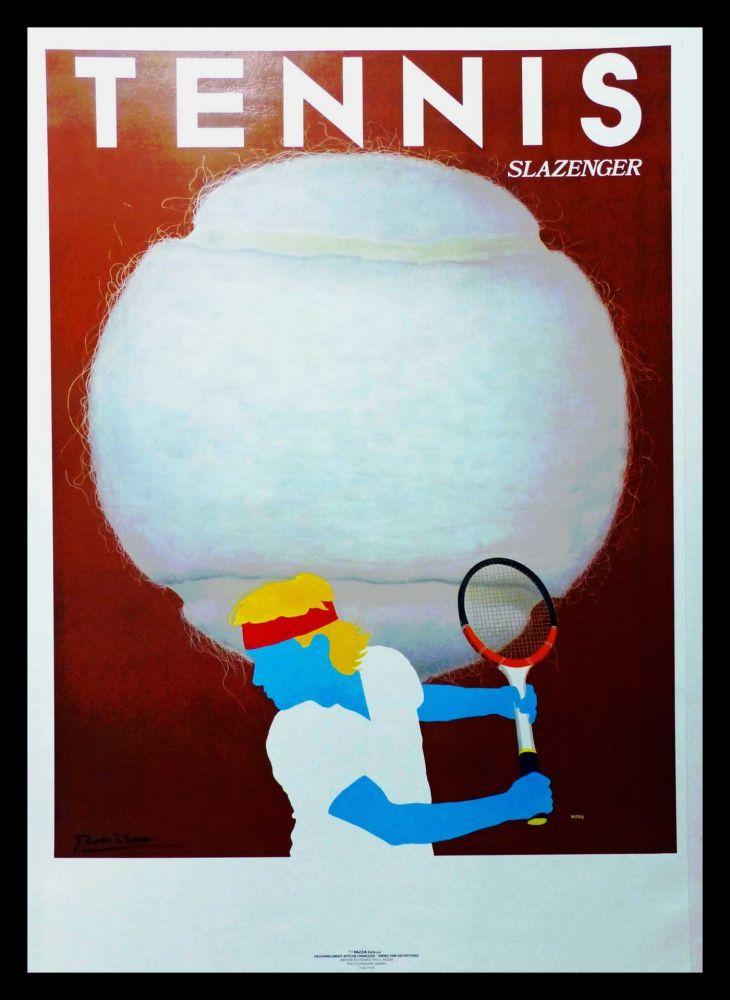 Poster Razzia - TENNIS SLAZENGER