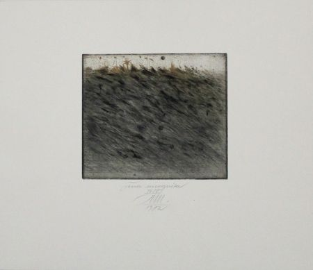 Etching And Aquatint Mordstein - Terra Incognita