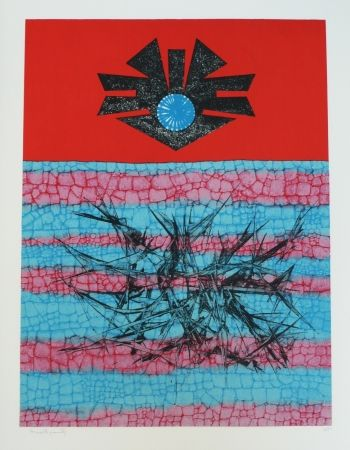 Lithograph Ernst - Terra Incognita 2