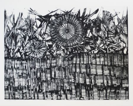 Lithograph Ernst - Terra Incognita 4