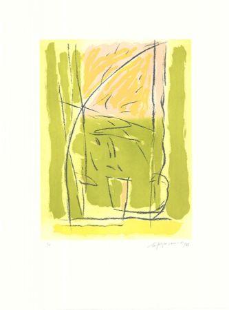Etching And Aquatint Ràfols Casamada - Terrasses-3