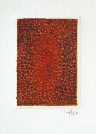 Etching And Aquatint Piza - Terre brûlée