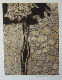 Etching And Aquatint Kalinowski - Terre pascale