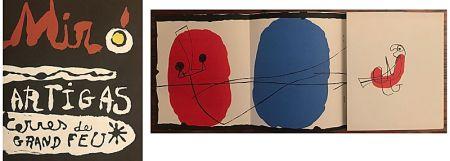 Lithograph Miró - Terres de Grand Feu (1956)