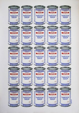 Lithograph Banksy - Tesco Soup Can