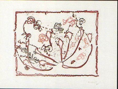 Engraving Alechinsky -  test du titre planche 2