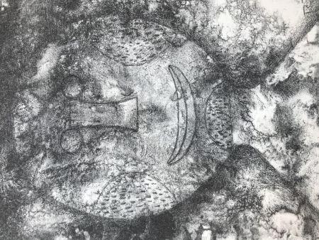 Lithograph Tamayo - TETE