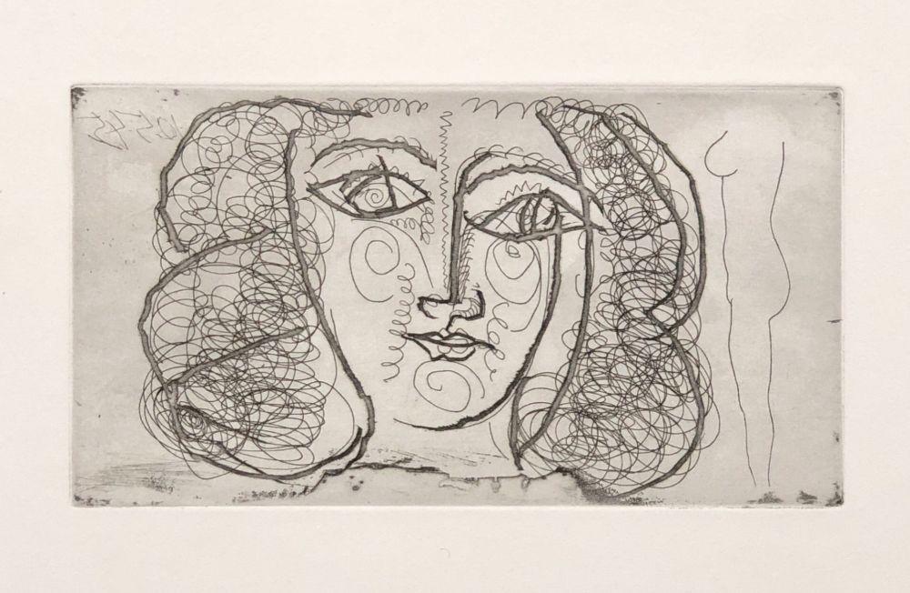 No Technical Picasso -  Tete de femme de face (Small))