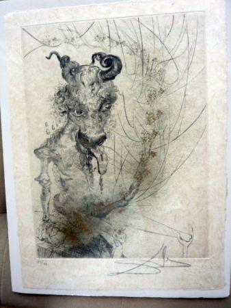 Engraving Dali -