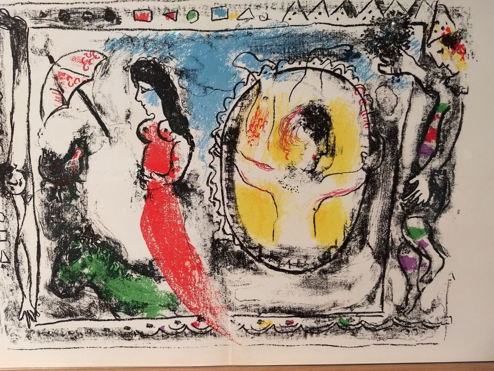 Illustrated Book Chagall - Tete DLM 147