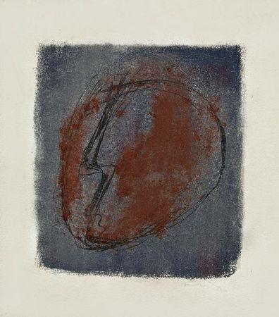 Lithograph Fautrier - Tete d'Otage