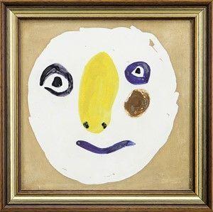 Ceramic Picasso - Tete Polychrome