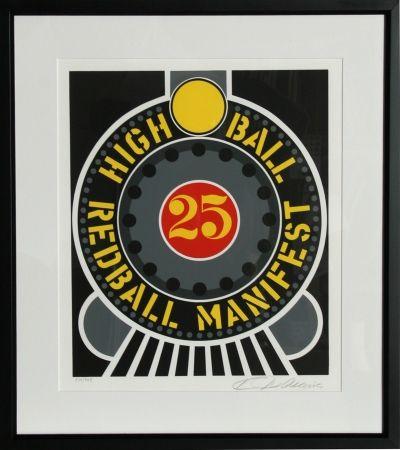 Screenprint Indiana - The American Dream: High Ball Redball Manifest