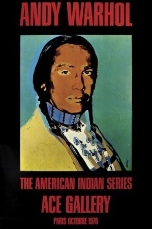 Poster Warhol - The American Indian Series