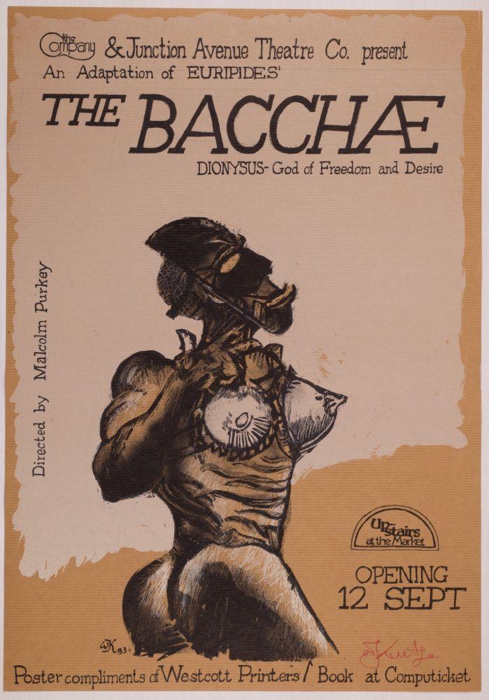 Screenprint Kentridge - The Bacchae
