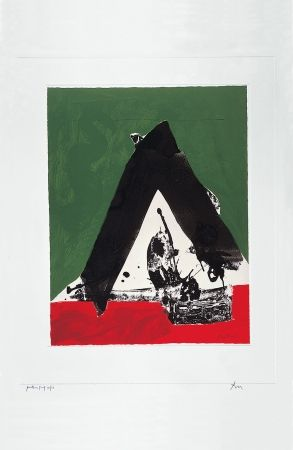 Screenprint Motherwell - The Basque Suite: Untitled