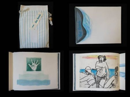 Illustrated Book Allix - The Beach, a short story