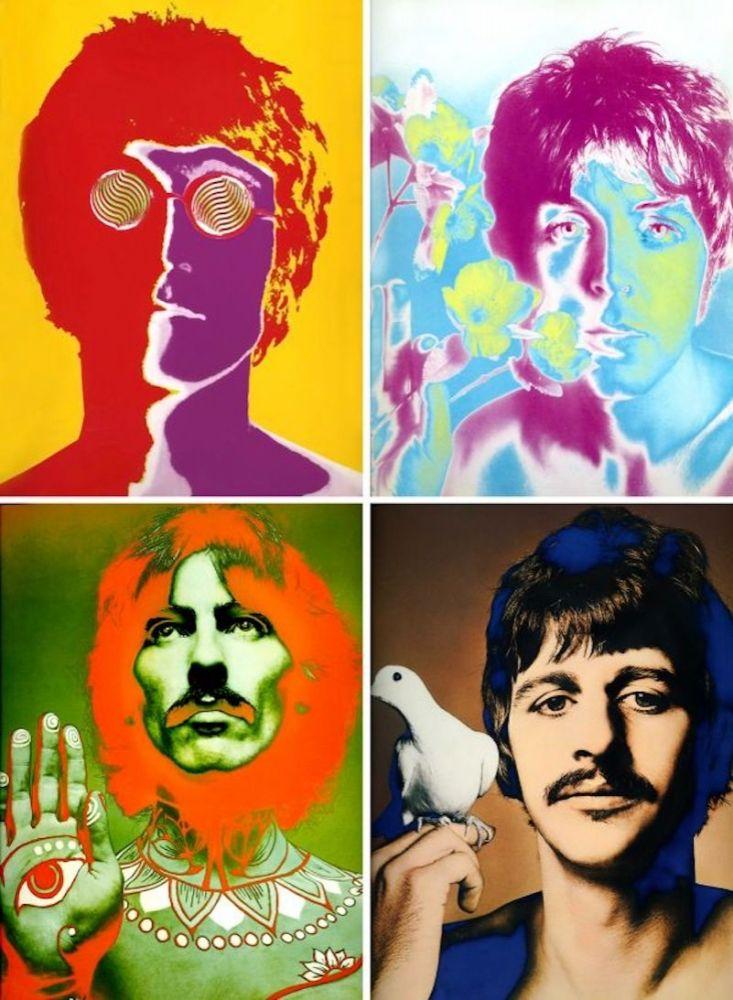 Lithograph Avedon - The Beatles