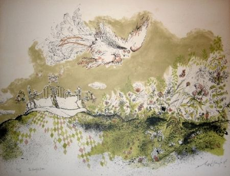 Lithograph Searle - The beautiful dream