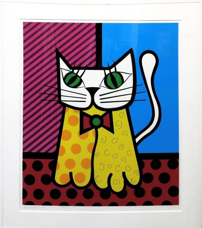 Screenprint Britto - THE CAT