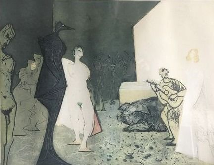 Etching And Aquatint Constant - The conversion of Venus